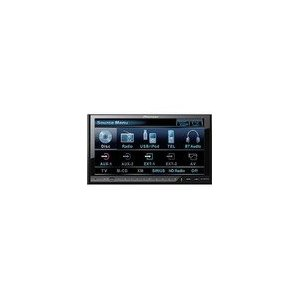 Pioneer AVH-P4100DVD 7-Inch In-Dash Touchscreen Double-Din DVD Multimedia A/V Receiver