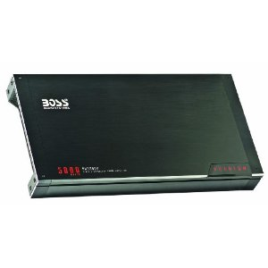 Boss PH5000D Phantom 5000 Watt Class D Monoblock Amplifier with Remote