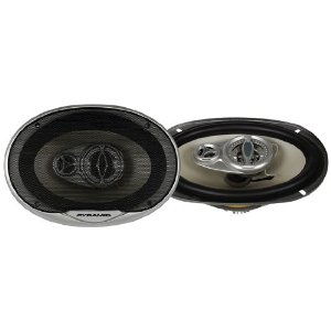 Pyramid 6394GX 6-Inch x 9-Inch 400 Watts ThreeWay White Injected P.P. Cone Speakers