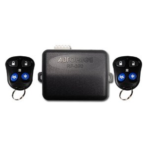 AutoPage RF-320 3 Channel Security System w/Keyless Entry
