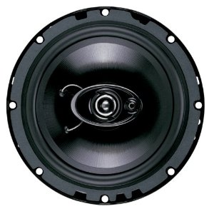 Boss Audio D65.3 3-Way 6.5-Inch Diablo Speaker - Single (Black)