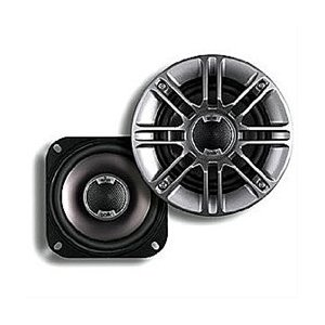 Polk Audio DB401 4-Inch Coaxial Speakers (Pair, Silver)