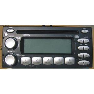 Magnadyne M9900CDS - Radio / CD player - 1.5 DIN - in-dash - 50 Watts x 4