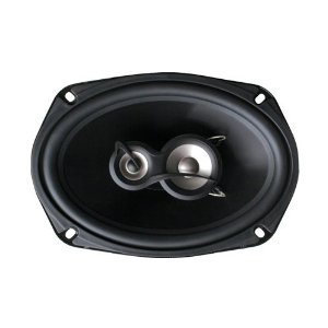 Planet Audio TQ693 6-Inch x 9-Inch 3-Way Poly Injection Cone Speaker System (Black)