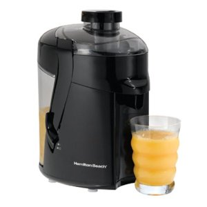 Hamilton Beach 67801 HealthSmart Juice Extractor, Black