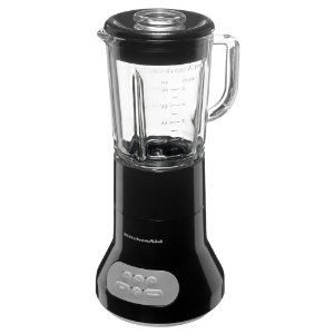 KitchenAid KSB354OB 3-Speed Classic Blender with 40-Ounce Glass Jar, Onyx Black