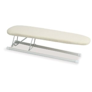 Household Essentials 120001 Tabletop Sleeve Ironing Board with Wood Top