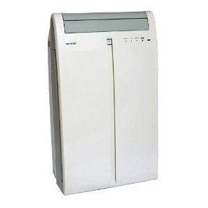 Sharp CV-P10MX Portable Air Conditioner 9,500 BTU, White