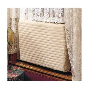 Indoor Air Conditioner Cover (Beige) (Small - 12 -14