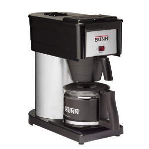 BUNN BX-B Classic 10-Cup Home Coffee Brewer, Black