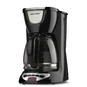 Black & Decker DCM100B 12-Cup Programmable Coffeemaker with Glass Carafe