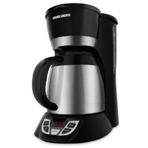 Black & Decker CM1509 8-Cup Programmable Coffeemaker with Thermal Carafe
