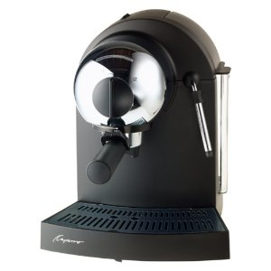 Capresso 113.05 Espresso Classic Luxe Black with Chrome Accent