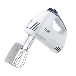 Black & Decker MX250 Power Pro Hand Mixer, White
