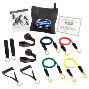 Bodylastics ***BASIC TENSION Heavy Duty Resistance Bands System with User Book