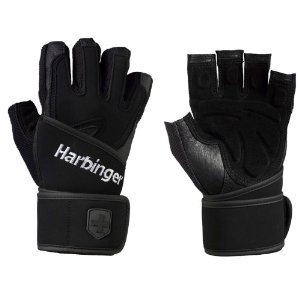 Harbinger 1255 Women's Training Grip Wrist Wrap Gloves