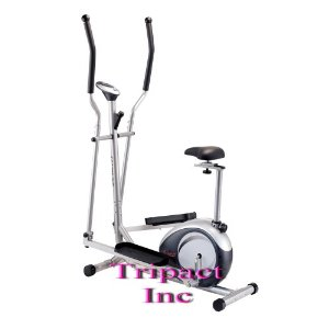 New Model 2008 Exercise 2 in 1 Elliptical Up-right Fitness Bike (Heavy Duty)