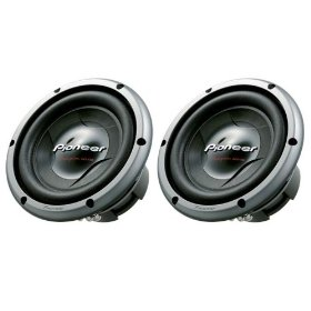 Pioneer TSW258D2 10-Inch D2 Regular Core Subwoofer - 2 Pack