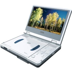 JWIN ELECTRONICS JD-VD745 Portable DVD Player with TFT Display