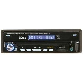 BOSS AUDIO BV9980 IN-DASH DVD/MP3/CD AM/FM RECIEVER