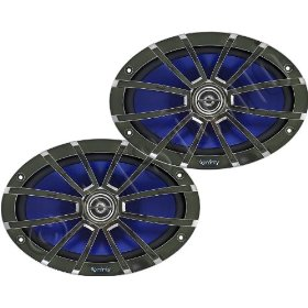 Infinity Reference 6912m 6 x 9-Inch 105-Watt Two-Way Marine Loudspeaker