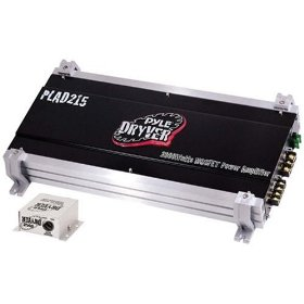 PYLE PLAD215 2 Channel 2000 Watt Bridgeable Mosfet Amplifier