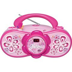 Barbie Radio - Barbie Bloombox BAR201 Portable CD Boombox with AM/FM Radio