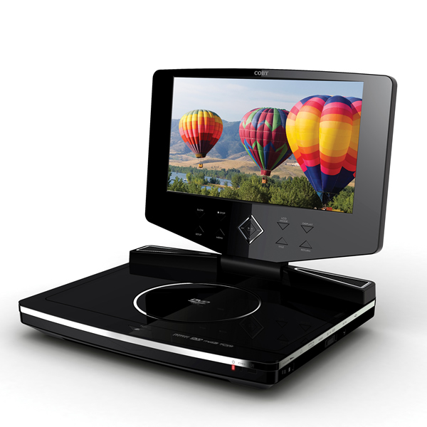 Coby tfdvd1023 dvd with 10inch lcd tft 16:9