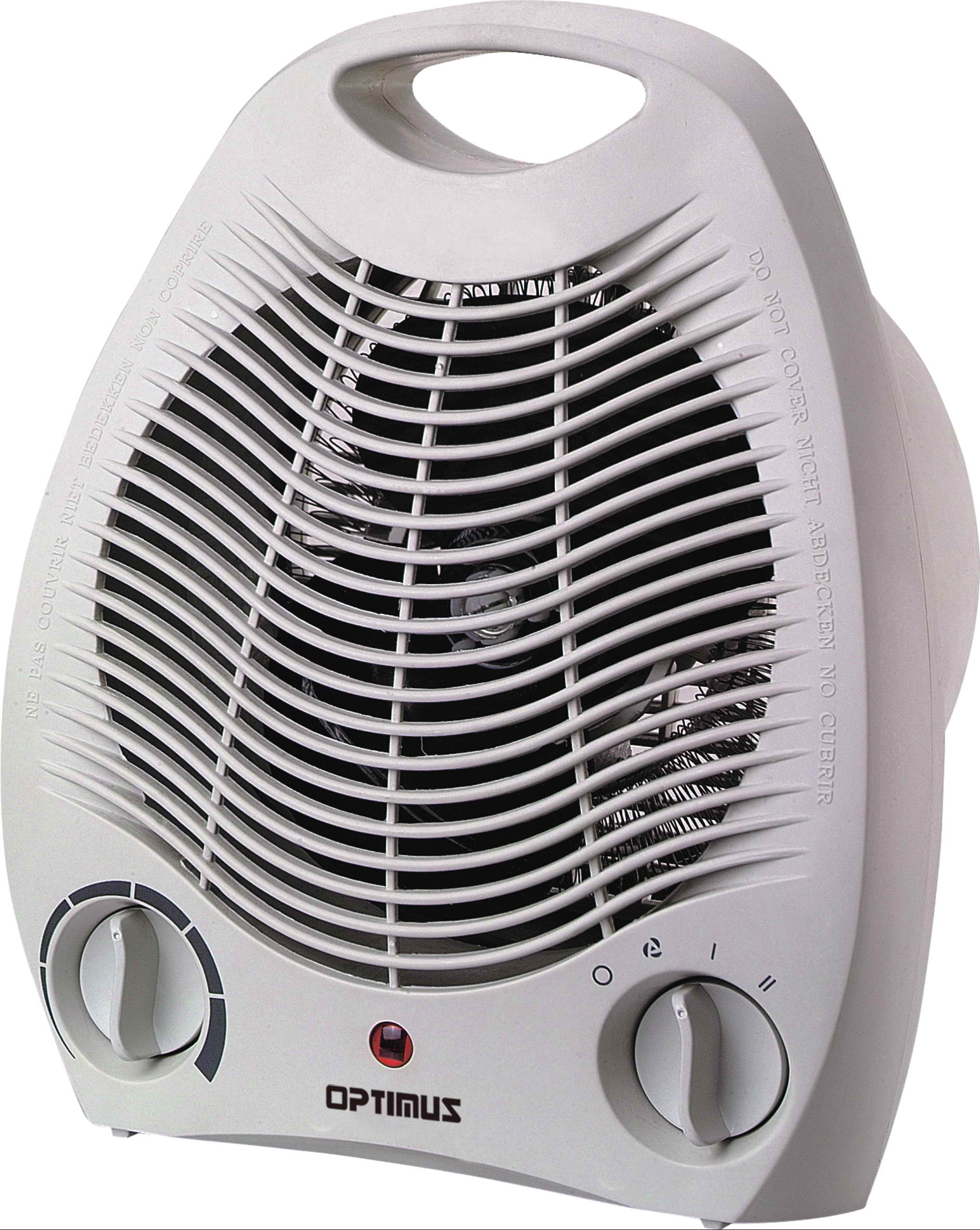 Optimus lvh1321 portable fan heater with thermostat