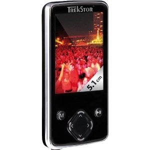 TrekStor i.Beat move 4 GB Video MP3 Player (Black/Chrome)