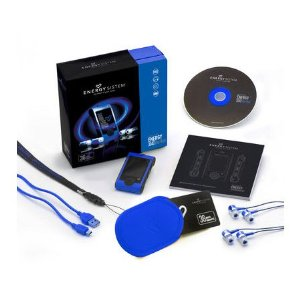 Energy Sistem 3040 16GB MP4 Player Blue Wave