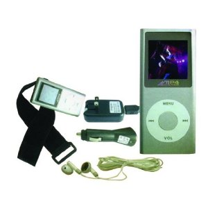 Fisher 4 Gb Mp3/mp4 Player With Fm Tuner