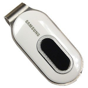 Samsung YP-F1Z 1GB USB MP3 Player/FM Tuner/Recorder (White)