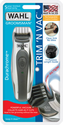 Wahl 5570 500s trimmer with vacuum single blade