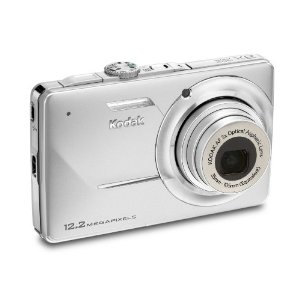 Kodak Easyshare M341 12.2MP Digital Camera with 3x Optical Zoom and 2.7-inch LCD (Silver)