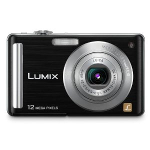 Panasonic Lumix DMC-FS25 12MP Digital Camera with 5x MEGA Optical Image Stabilized Zoom and 3 inch LCD (Black)