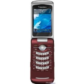 Blackberry Pearl 8220 Flip Red Unlocked