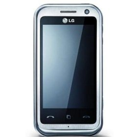 LG Arena KM900 Unlocked Phone with Quad Band, 5MP Camera, GPS, Dual Touch Screen, and DVD Resolution--International Version with No Warranty (Silver)