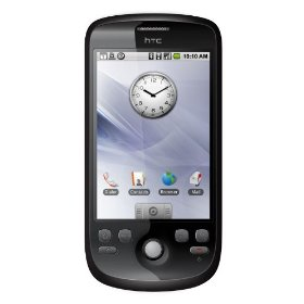 HTC Magic Android Google 2 Unlocked SmartPhone--International Version with NoU.S. Warranty (Black)