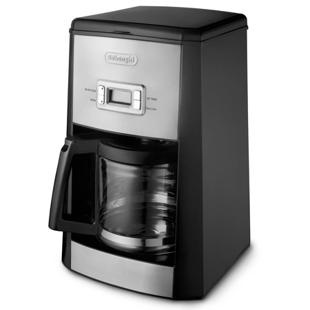 Delonghi dc312t coffee maker 14cup 900w glass jar