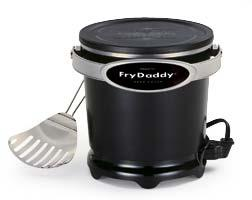 Presto 05420 black fryer deep 4cup frydaddy