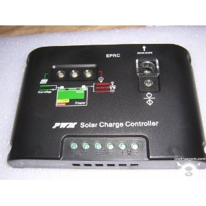 12 Volt, 10 Ampere Solar Charge Controller (No Cables)