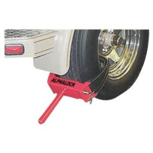 Alpha Lock 11 1/2in.-Wide Wheel Immobilizer Lock