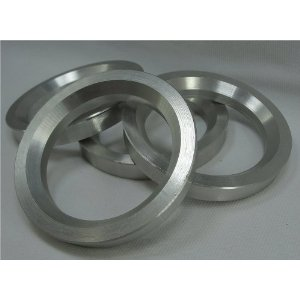 Hub Centric Rings 73.00 - 55.10 Aluminum Hubcentric