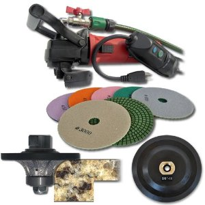 SECCO 12WVPOLSET 1/2-Inch Radius Wet Polisher Kit