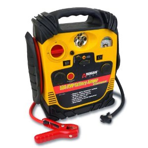 Wagan EL2544 500 Amp Jumpstarter with Built-In Air Compressor