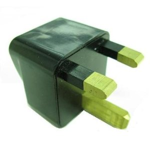 US/EU/AU To UK Travel AC Power Adapter Plug Converter