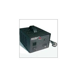 VT-300 Heavy Duty Continuous Use Step Up and Down Voltage Transformer. 300 Watt for 110V/220V. Use Worldwide.