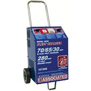 Associated Equipment ASO6006 Battery Charger 6/12/24 Volt- 75 Amp- 455 Amp Boost