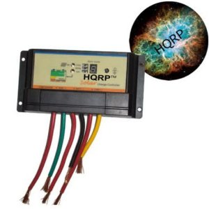 HQRP 10A Solar Panel Power Battery Charge Controller / Regulator 12V / 24V 10 Amp 150W with PWM Charge mode plus HQRP Mousepad